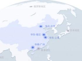 京东云主机地域节点及可用区分布对照表
