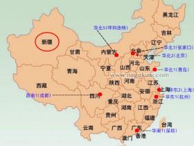 阿里云服务器新疆地区如何选择ECS地域节点?