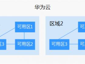 华为云服务器区域和可用区分布表及选择方法